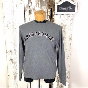 Vintage Abercrombie grey graphic sweatshirt